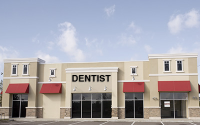 Dental office for sale store front